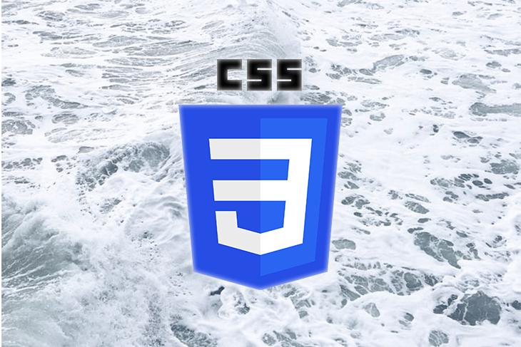 CSS logo over the ocean.