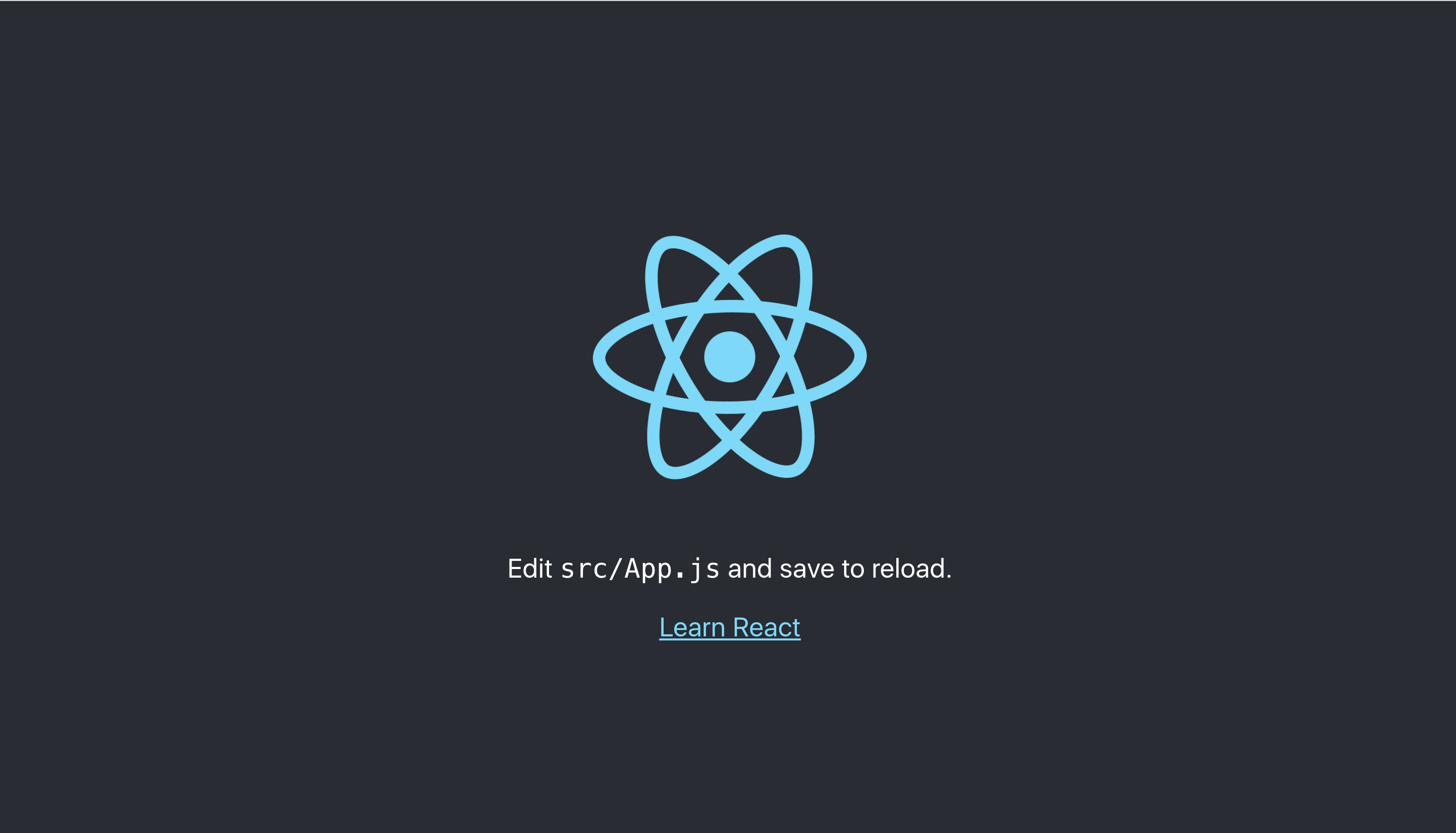 react appjs in browser