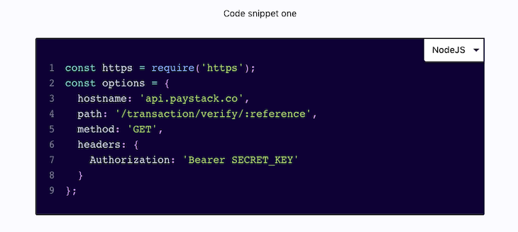 Our Finished Code Snippet Module