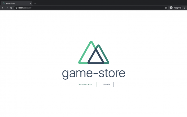 game store window
