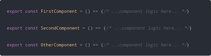React.lazy() Components