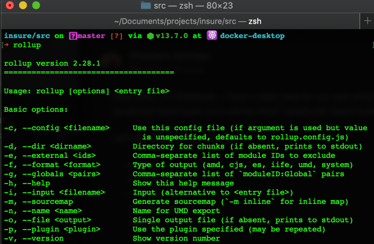 Rollup.js Project