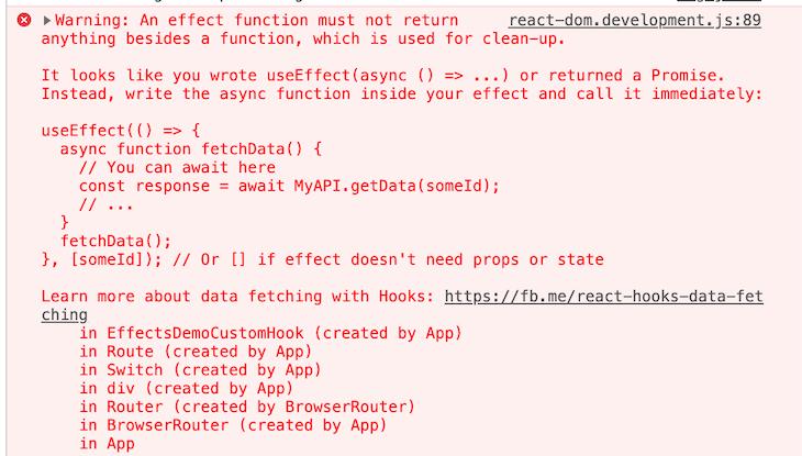 Async/await Produces a Runtime Error