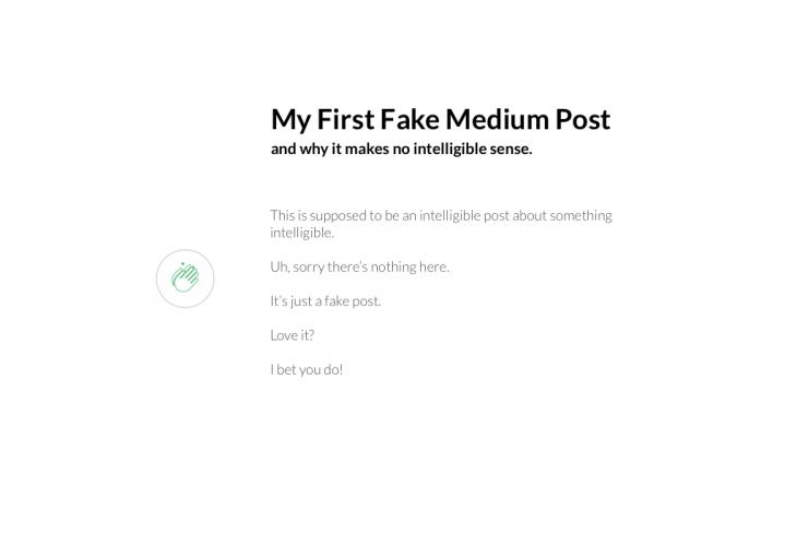 Data fetching Medium example