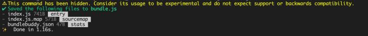 Generating a Bundle File
