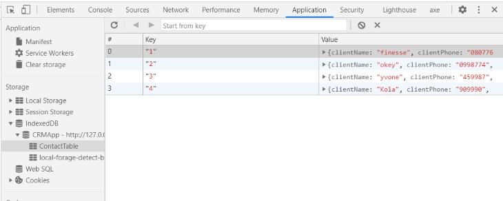 Chrome Dev Tools Page