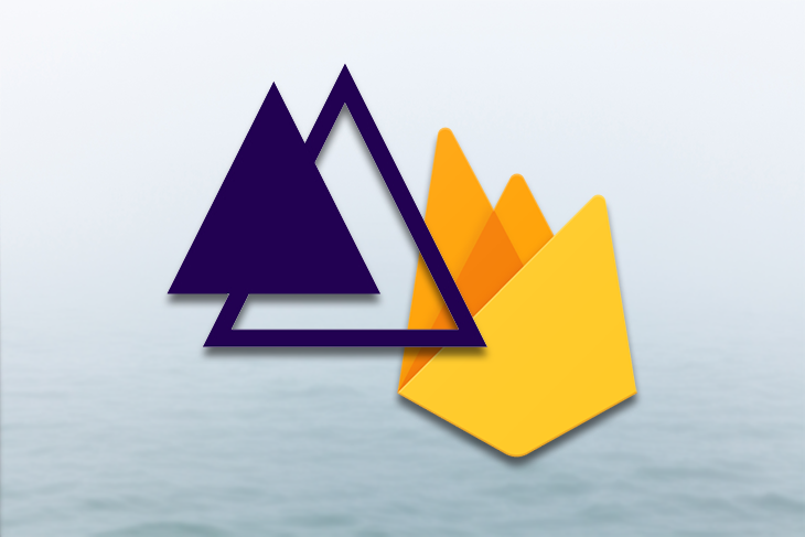 Cloud Firestone and AdonisJs Logos