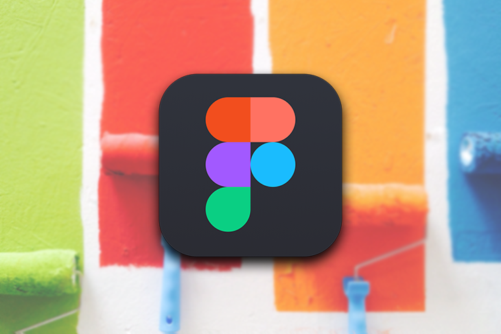 Figma Logo Over Painted Background