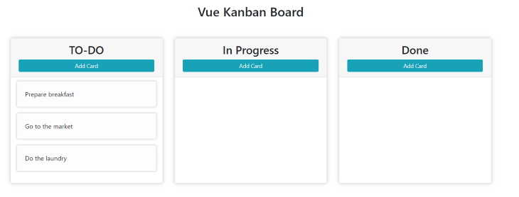 A Look at the In-Progress Kanban Board