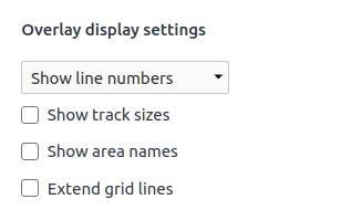 chrome devtools css grid overlay display settings