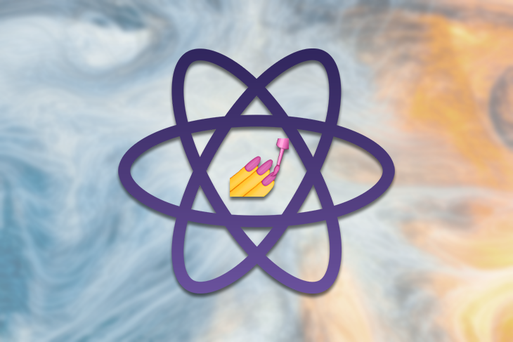 Styled-components in React Logo with an Emoji