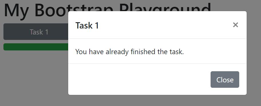 task saved