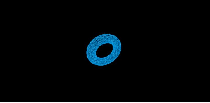 Torus Shape in Three.js