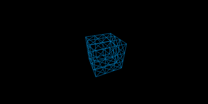 Three.js Geometry Split Into Two Sides