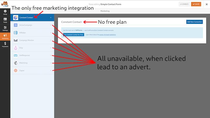 WPF Forms: Marketing Integration