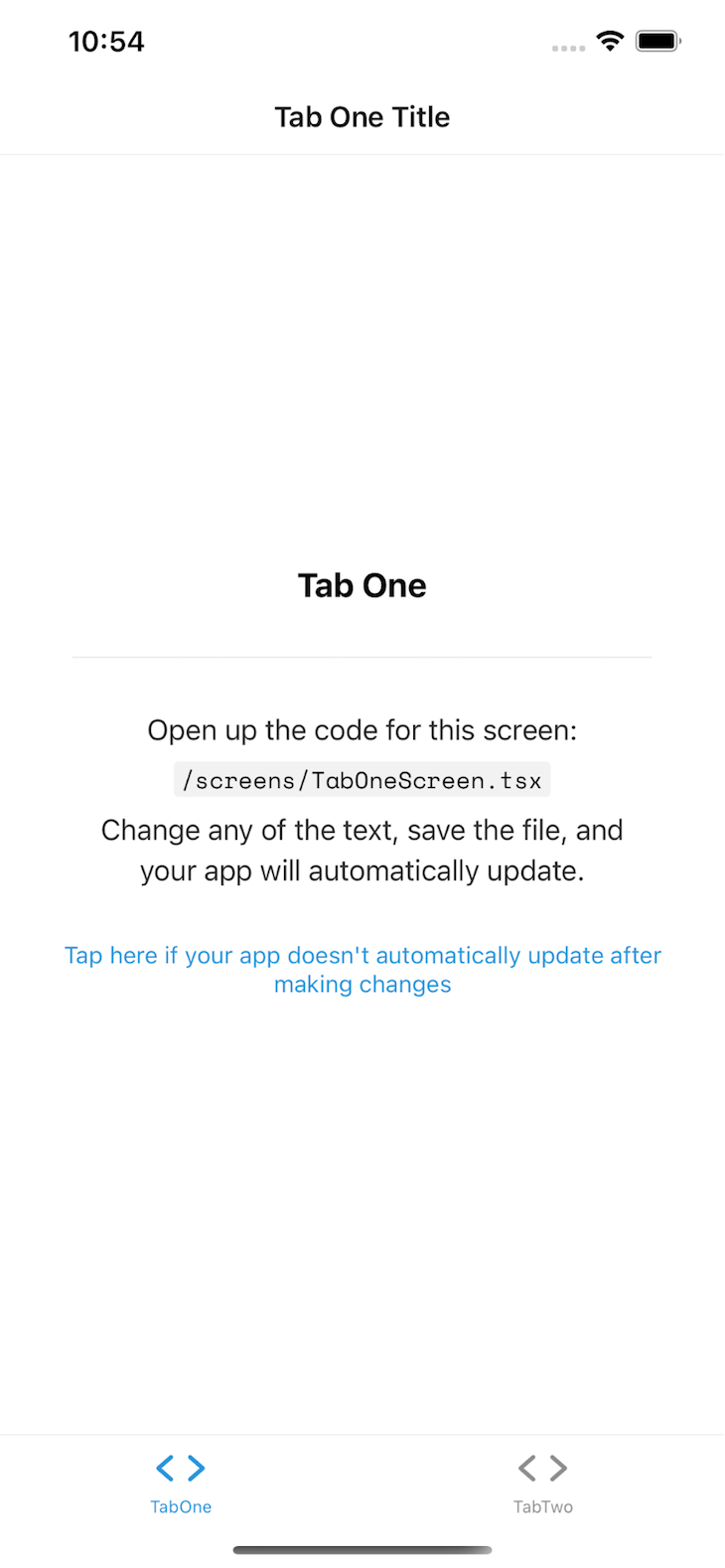 App Run Output in iOS