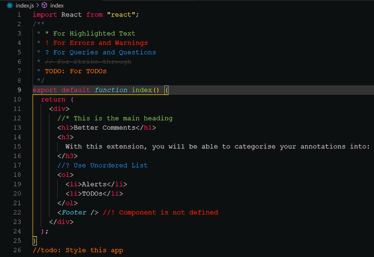 Better-Comments-VS-Code-Extension-Example