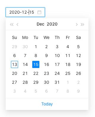 Ant Design Date Picker