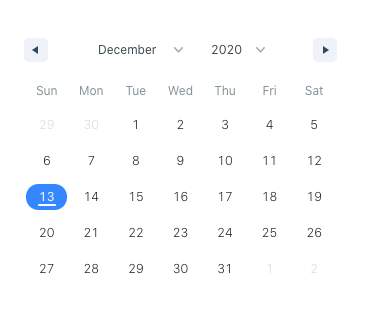 Hypeserver React Date Range