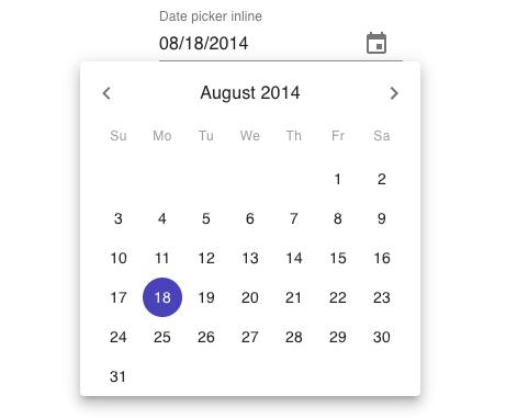 Material UI Date Picker