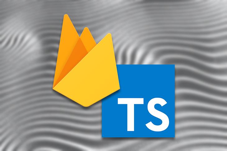 Firebase and TypeScript Logos Overlapping