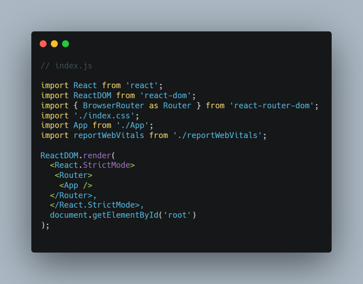 Routing in React.js