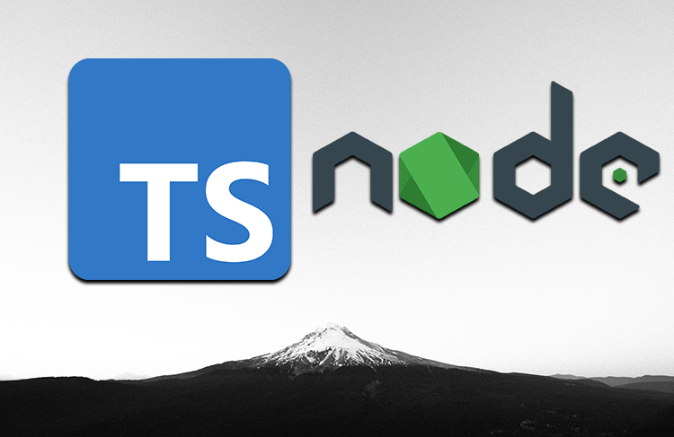 TypeScript and Node logos above a white background.