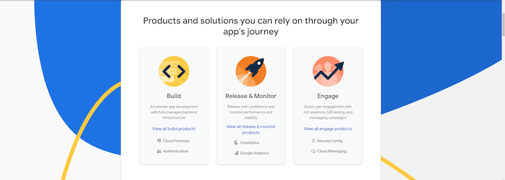 Firebase Products 3 Phases