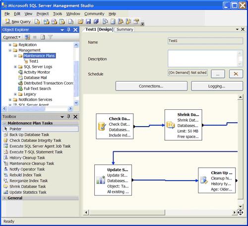 Microsoft SQL Server Integration Services Visual