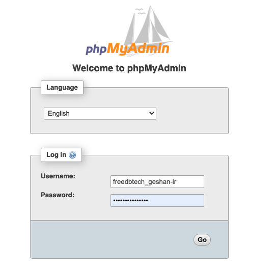 Visit-phpMyAdmin-login-screen