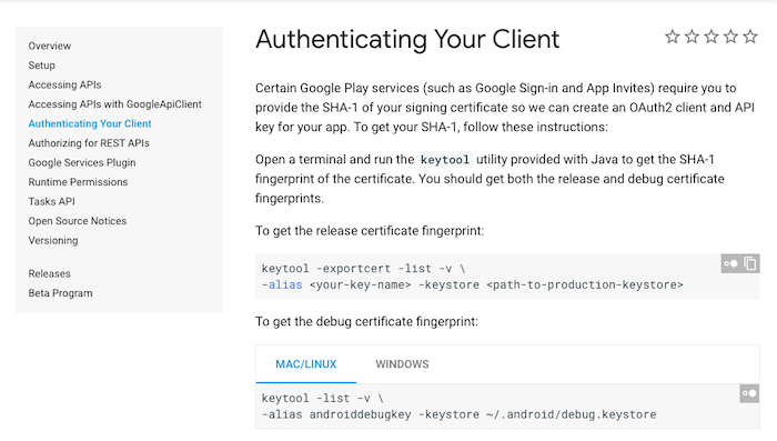 Authenticating Your Client in Firebase