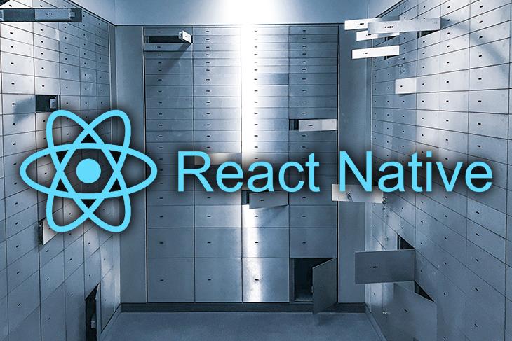 react native local encryption