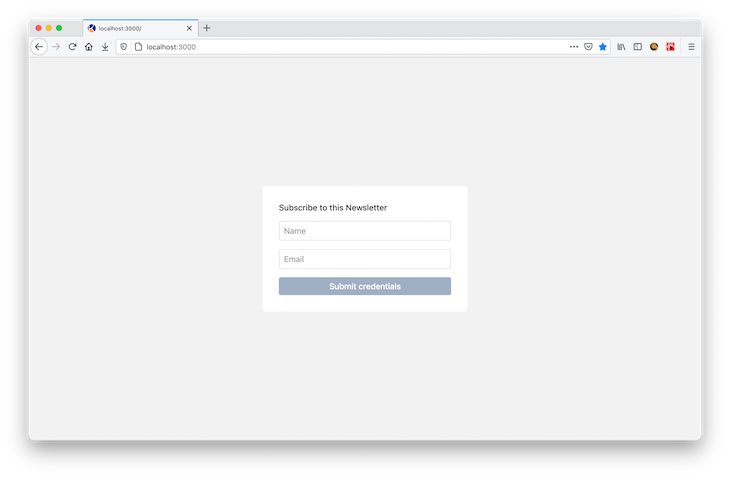 Simple Demo Link Nextjs