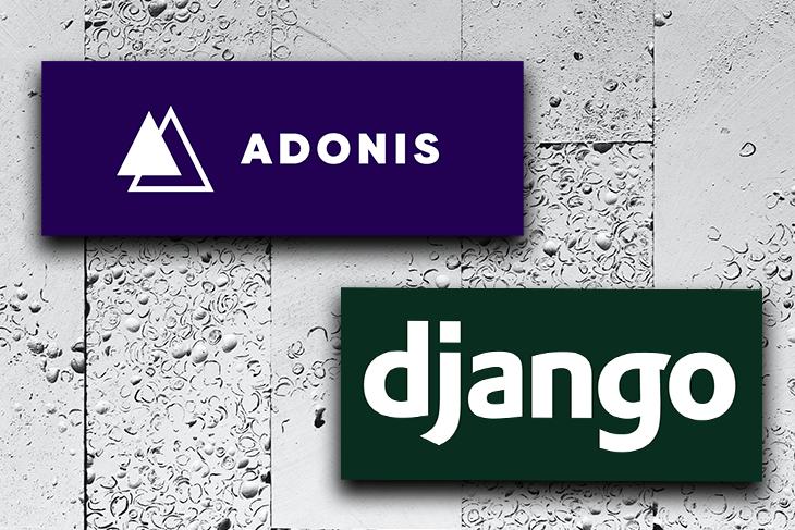AdonisJS and Django Logos