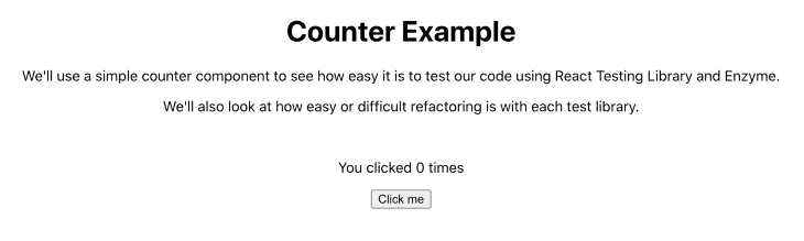 Counter App Example
