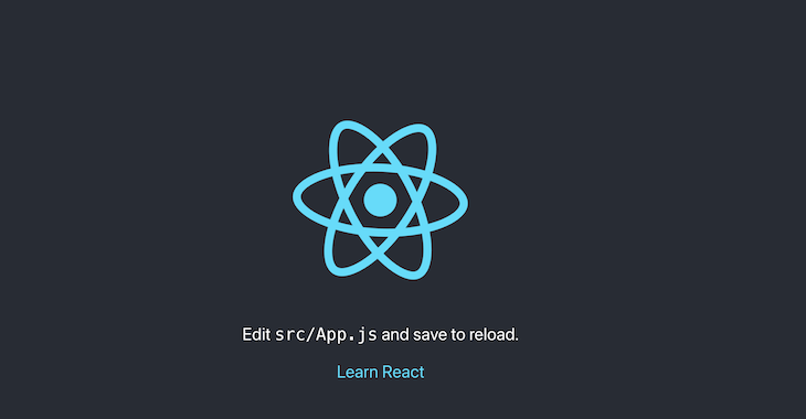 Create React App Home Logo