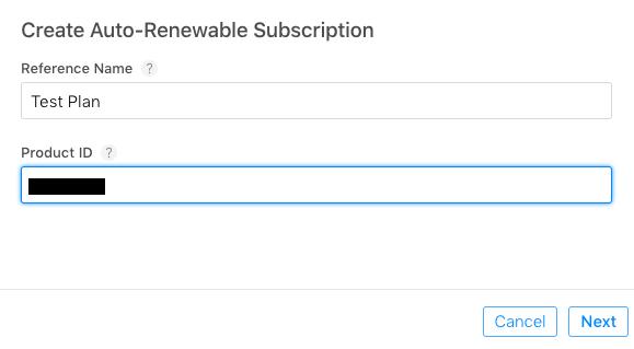 Create Subscription Plan