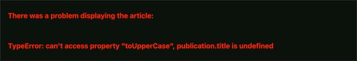 Error Boundary Fallback UI Updated Notice