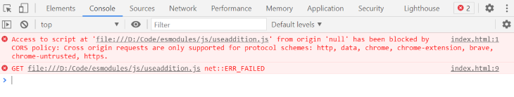 Another Error