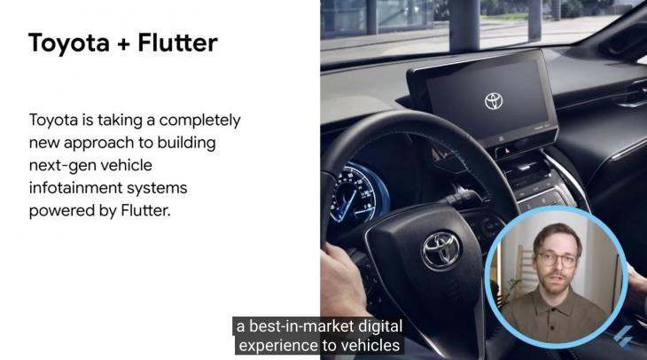 Flutter 2.0 announcement toyota