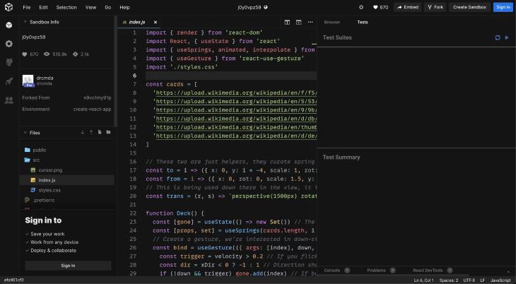 Index.js Screenshot