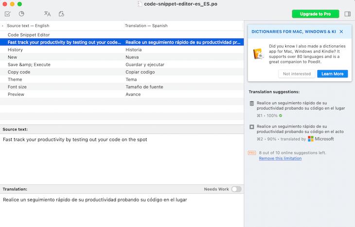 Machine Object File Compilation
