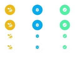Raised Reverse OnPress React Native Icons Swarm Set