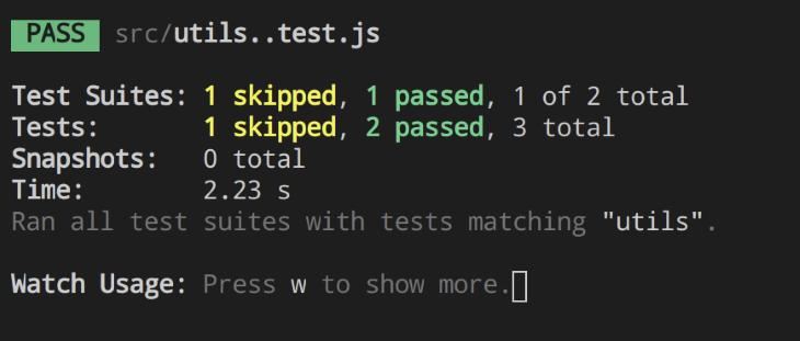 Successful Test
