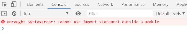 Uncaught Syntax Error