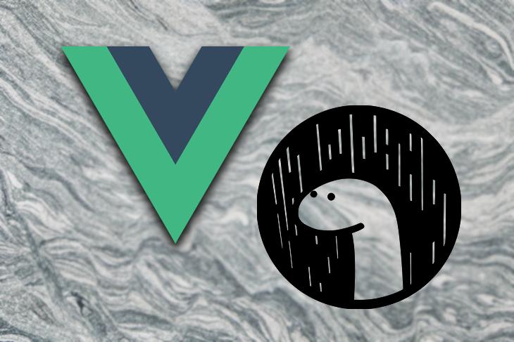 Vue and Deno Logos