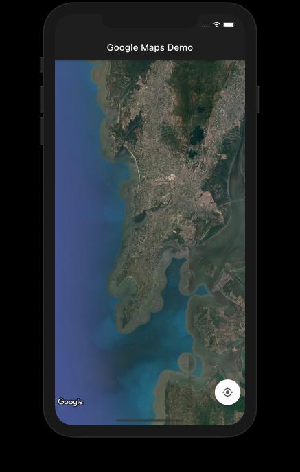 Changing Map Type Satellite