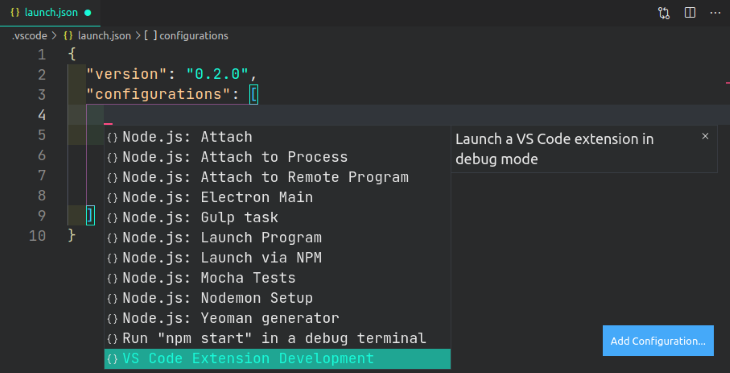 Launch Config