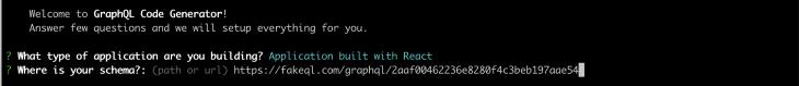 Pasting FakeQL URL