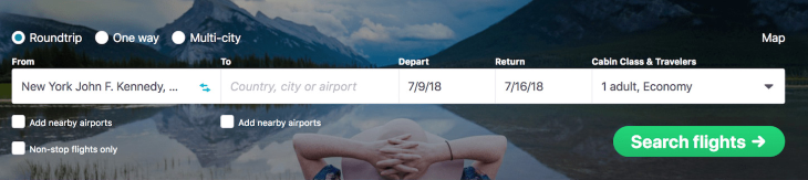 Skyscanner Example